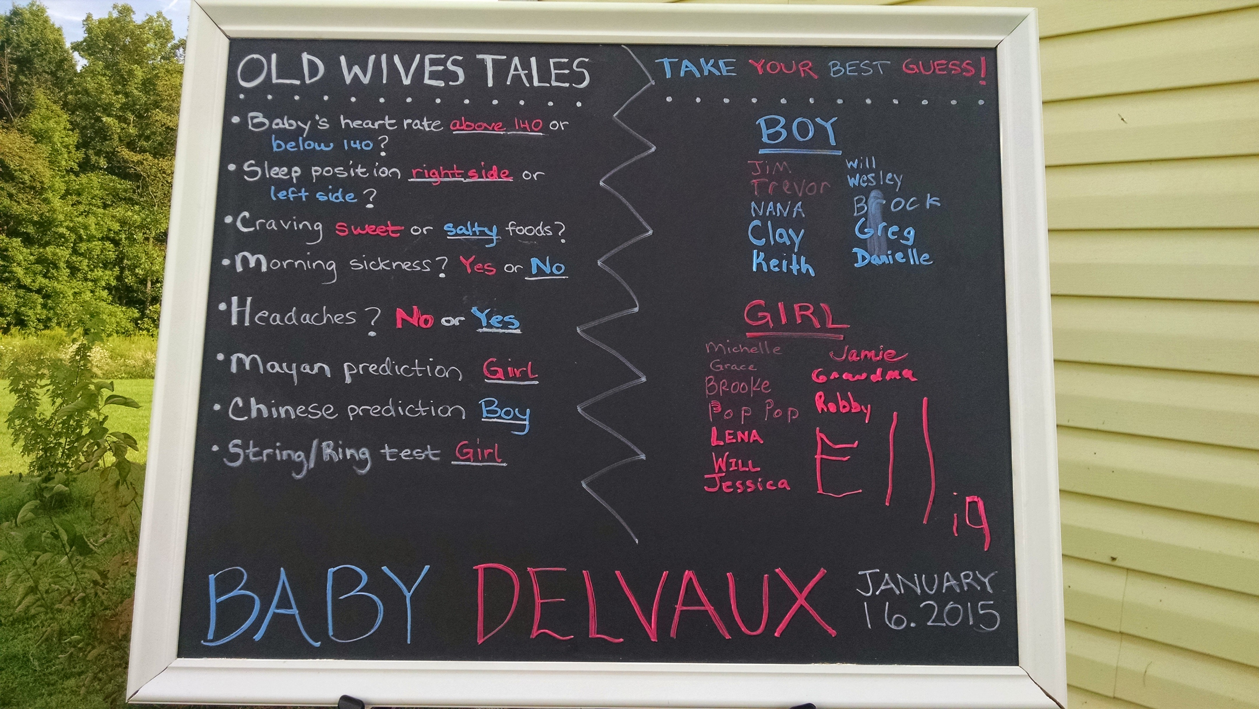 Our Modern Baby Gender Reveal Party   Delvaux Wedding